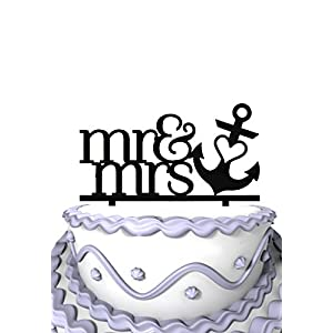 419LsNIBS5L._SS300_ Beach Wedding Cake Toppers & Nautical Cake Toppers