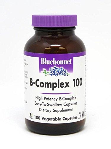 BlueBonnet B-Complex 100 By - 100 Vegetarian Capsules