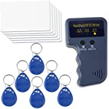 Four New Handheld RFID ID Card Copier/Reader/Writer 6 Writable Tags/6 Cards and Powerful Keyfobs