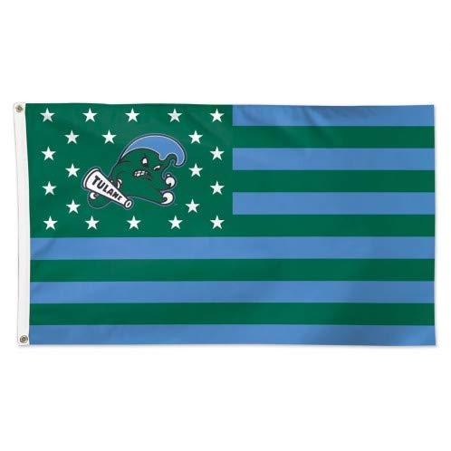 Wincraft Tulane Green Wave American Flag 3 x 5 Foot - NCAA ()