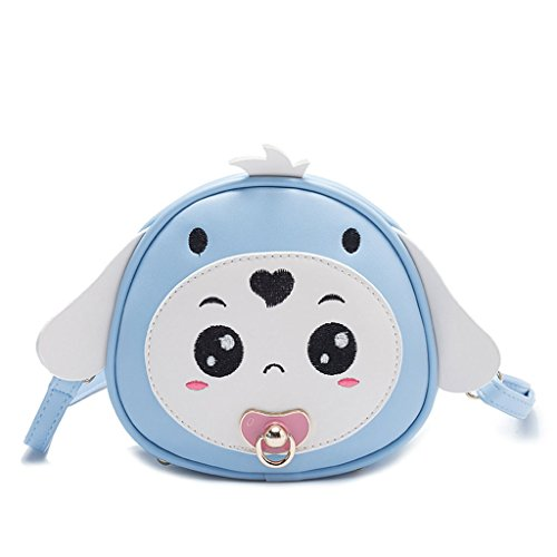7x7x16cm 69x2 Claro para 6 Bandolera Light Light Blue niños Blue Rabbit Long 75x6 Dog 3 de Azul Bolso Color Dabixx Perro Ear diseño qZSTx