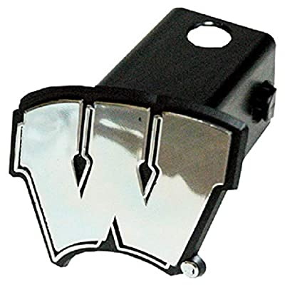 NCAA Wisconsin Badgers Car Trailer Hitch Cover: Sports & Outdoors