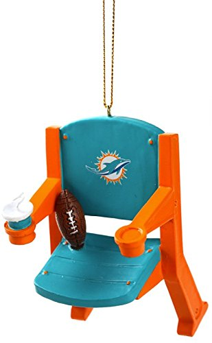 Miami Dolphins Official NFL Stadium Seat Ornament