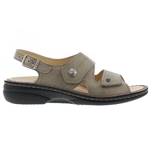 Leather Milos Finn Womens Comfort Sandals Kombi Eqxtvx