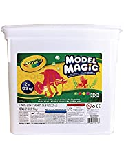 Crayola Model Magic Bucket, Neon, School and Craft Supplies, Gift for Boys and Girls, Kids, Ages 3,4, 5, 6 and Up, Holiday Toys, Arts and Crafts