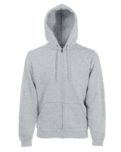 of of of Felpa Uomo Hooded Hooded Hooded Hooded Grey the Fruit Loom Heather AwqBHRB8n