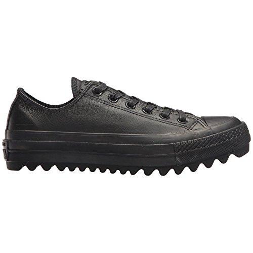 Ox Ctas Fitness Donna Ripple Scarpe Leather Chuck Taylor black Converse Lift 001 Da Nero black black AwzXnE