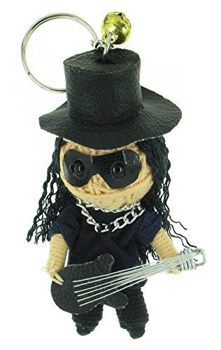 Slash Guns N' Roses Band Voodoo String Doll Keyring Keychain