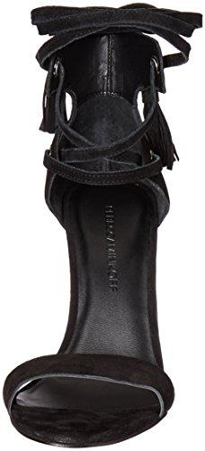 Black Minkoff Sandal Women's Rebecca dress Riley AwvgqX