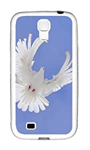 Samsung S4 Case,VUTTOO Stylish White Pigeon Sky Soft Case For Samsung Galaxy S4 I9500 - TPU White