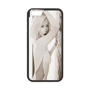 Bloomingbluerose Christina Aguilera ,Woman Fragrance Photoshoot IPhone 6S Cases, {Black}
