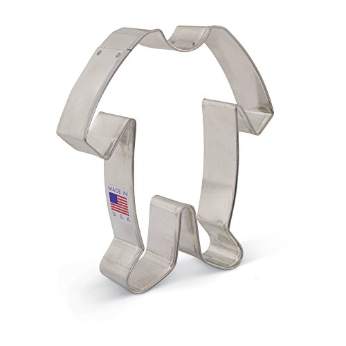 Baby Footie Pajamas/PJs Cookie Cutter - Ann Clark - 4.5 Inch - US Tin Plated Steel