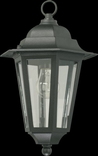 Quorum International 791-15 Hanging Lanterns with Shades, Black