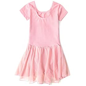 - 419LyZCsdsL - Apexsolaire Girls' Skirted Ballet and Tap Leotard