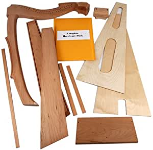 Amazon Com Limerick Lap Harp Kit Everything Else