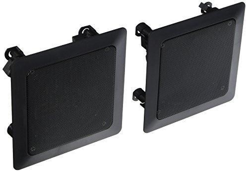 Full Range 30w Ceiling Speaker - Mr. Steam MS SPEAKERS SQ-BK MusicTherapy Speakers, Square - Black