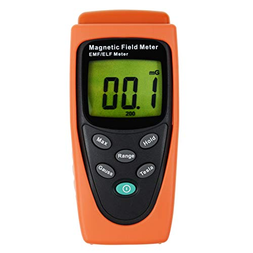 Gauss EMF ELF Meter Detector Electromagnetic Field mG by Gain Express ()