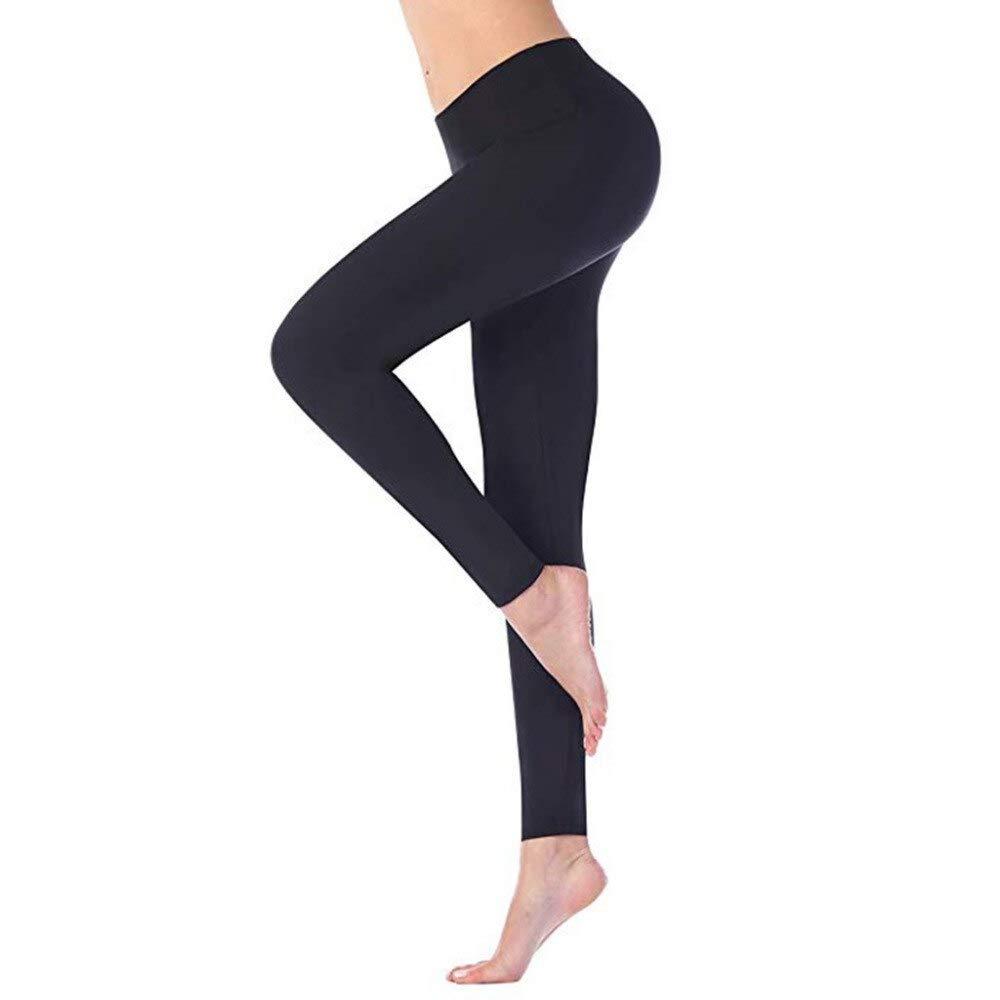 YUYOGAP Frauen sexy Yogahosen schnell trocknend eng anliegende Stretch-Fitness-Yogahosen hohe Taille Yogahosen drücken Damen