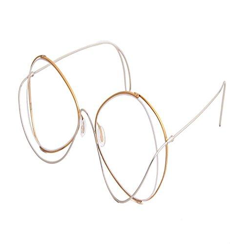 Gafas gafas Transparente y Color 6 sol sol de marco marcos de sol completo de metal hermosas anteojos colgantes de Shop de de gafas Gafas sol gafas de RFH5q4Aqw