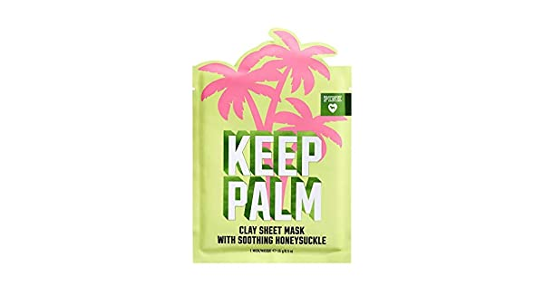 5dcac0668a4ec Victoria's Secret PINK Clay Sheet Mask - Color Keep Palm Honeysuckle ...