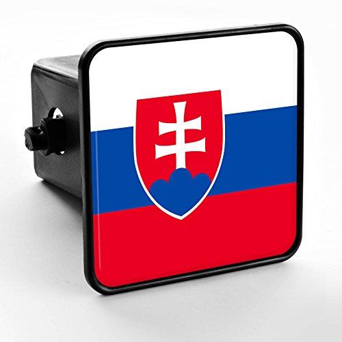 Trailer Hitch Cover - Flag of Slovakia - Slovakia Svk