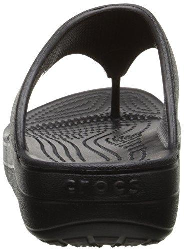 Femme black Noir Crocs Sloane Platform Sandales SnXt1Zz
