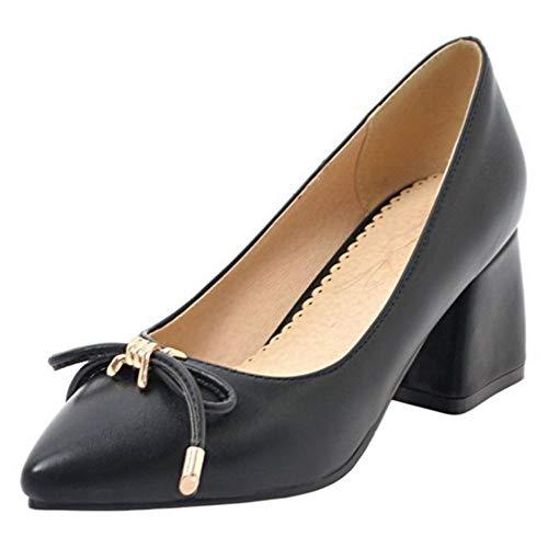 Bloc Noir On Femmes Coolcept Mode Chaussures Easy Talon xUwqwF84nR