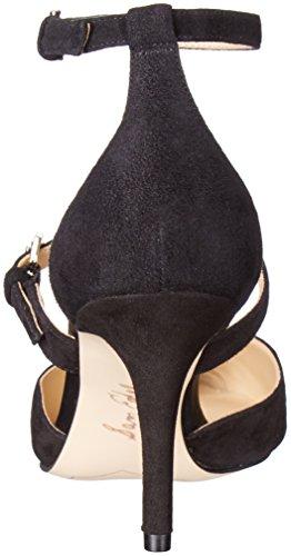 Pump Edelman Suede Women's Dress Black Sam Thea Bp4AqCqw