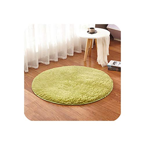 Drem-Wardrobe Modern Soft Carpet Nordic Kids Rug Indoor Parlor Rug Bedroom Besides Child Room Mats Living Room,Code 8,Diameter 30Cm