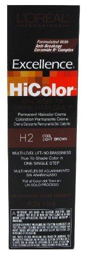 ee9e5c35073c L OREAL Excellence HiColor Permanent Hair Color Creme HC-05114 H2 Cool  Light Brown