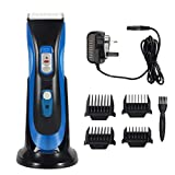 Best Dog Clippers Wirelesses - Hair Clipper Cordless Rechargeable Haircut Hair Trimmer Kit Review