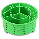 6Qt Instant Pot Stackable Silicone Steamer Basket Accessories with one Insert Divider - by Avokado (1 Basket)