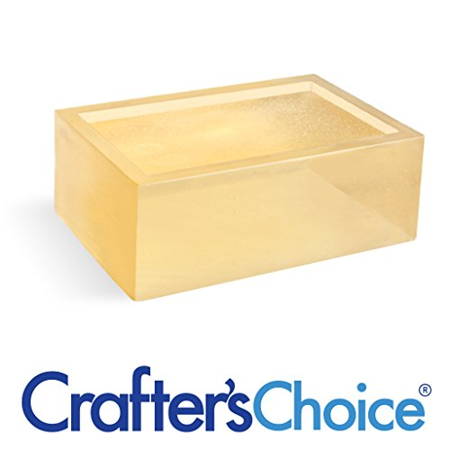 Crafter's Choice 2 LB Detergent Free Honey Melt and Pour Soap Base ()