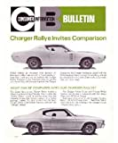 1972 Dodge Consumer Information Bulletin Sales Brochure Literature Book Options
