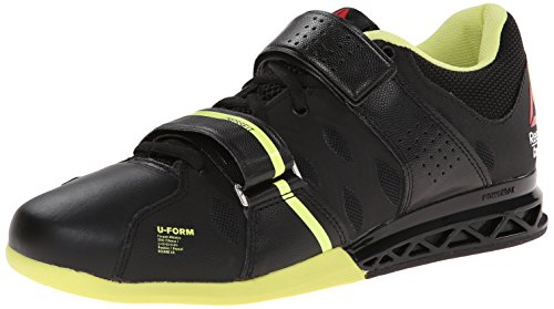 Reebok Women's Crossfit Lifter Plus2.0 Training Shoe, Black/High Vis Green, 10 M US by Reebok