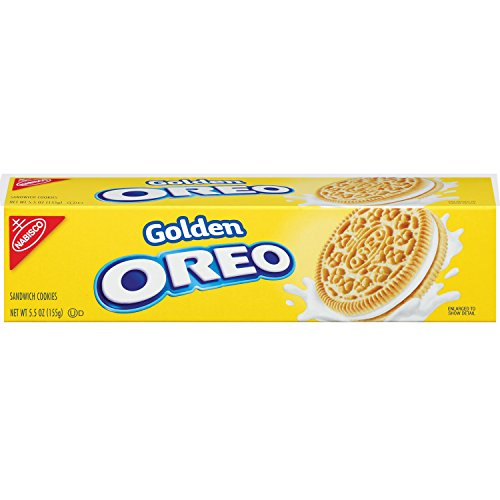 Oreo Golden Sandwich Cookies Ounce product image