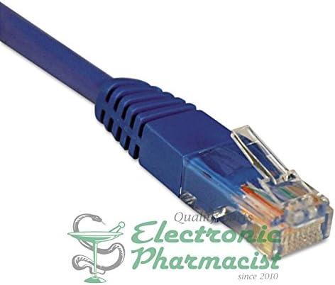 Tripp Lite N002002BL N002-002-BL 2ft Cat5e 350MHz Molded Cable RJ45 M//M Blue 2