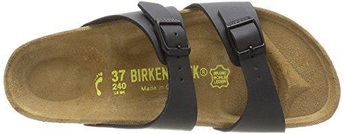 Birkenstock Sydney - Zapatillas de estar por casa con talón abierto Mujer Negro (Noir)