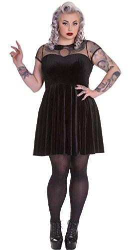 Hell-Bunny-Nina-Mini-Black-Gothic-Steampunk-Dress