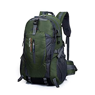 191831c1eddd Amazon.com  Clearance Wobuoke Fashion Outdoor Hiking Camping Waterproof  Nylon Travel Rucksack Backpack Bag  Shoes