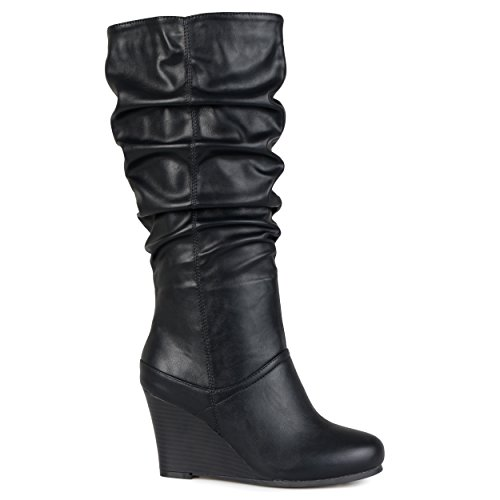 Wide Women's Regular Star Black Slouch amp; Co Brinley Boot Calf R1xSS6