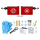 ADIPA Canada Tick Removal Kit Compact 15pcs Tick Removal Set Emergency Treatment for Ticks Lightweight & Complete Health Canada Approved