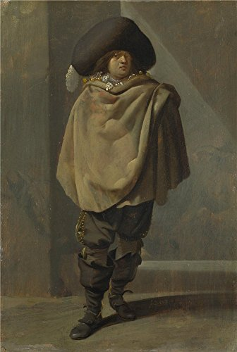 Oil Painting 'Pieter Quast A Standing Man ' Printing On Perf