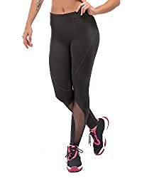 Feivo Yoga Pants, Women's Power Flex Yoga Pants Tummy Control Workout Yoga Capris Pants Leggings