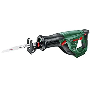 Bosch Cordless Reciprocating Sabre Saw PSA 18 LI (Without Battery, 18 Volt System, Blade Included, in Box)