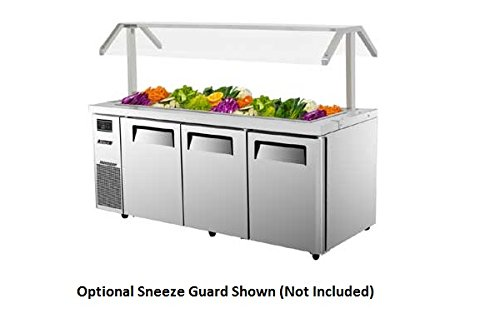 JBT72 18 cu. ft. J Series-Buffet Display Table with Side Mount Compressor Unit Efficient Refrigeration System Hot Gas Condensate System High Density PU Insulation and Adjustable Shelves: Stainless Steel