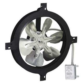 Broan 35316 Gable Mount 120 Volt Powered Attic Ventilator