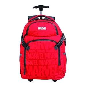 Mala Escolar Gl com Rodinhas Marvel Sports, DMW Bags