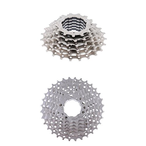 Homyl 2 Pieces Bicycle Freewheel Cassette Cog Sprocket Gear Parts 8 Speed 23T/32T Brand New and by Homyl
