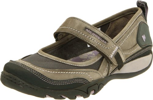 Merrell Women's Mimosa Emme Mary Jane,Dusty Olive,6 M US